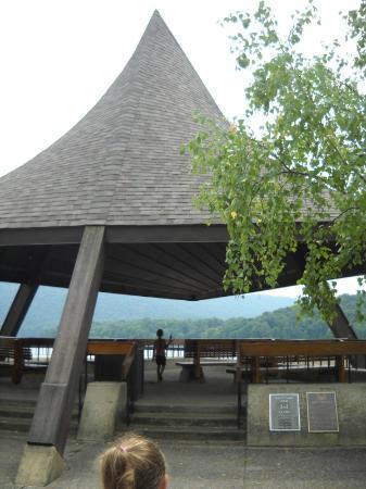 Raystown Lake: Pagoda at dam