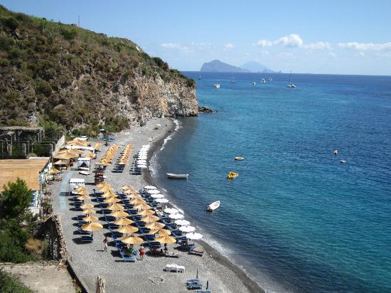 Villa Hermes: La spiaggia bianca