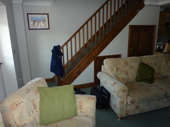 Green Acres Cottages: eh .....stairs to bed rooms