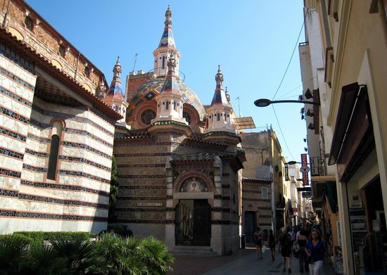 Parish Church of Sant Roma : View of the Church of Sant Roma