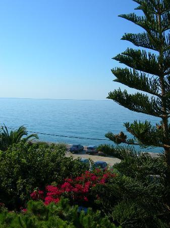 Sarikampos Beach Hotel: View
