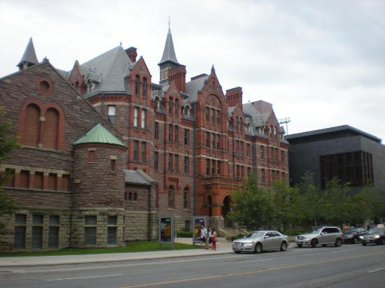 Royal Conservatory of Music: Outer view of RCM