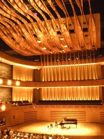 Royal Conservatory of Music: Inside of Korerner Hall