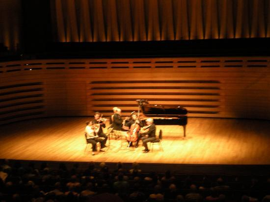 Royal Conservatory of Music : The concert at Koerener Hall