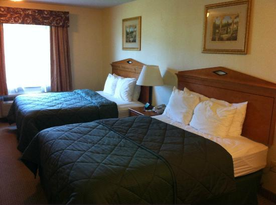 Comfort Inn Lancaster County: Two Queen Beds