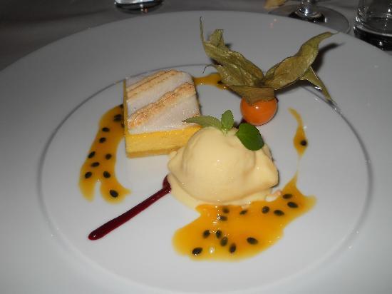 Berghotel Zirm: Esempio di un piatto della cena...