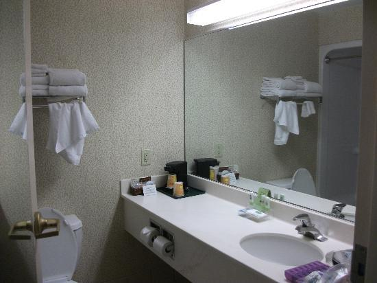Country Inn & Suites By Carlson, Gettysburg: Clean bathroom