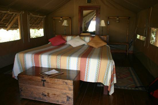 Tortilis Camp: Sleeping area...