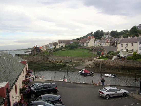 Crusoe Hotel: Harbour view