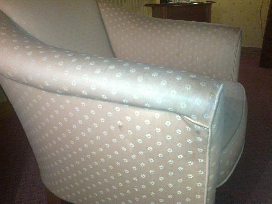 The Plaza Hotel: Dirty armchair