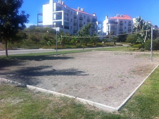 Sol Andalusi Health & Spa Resort: terrain de volley