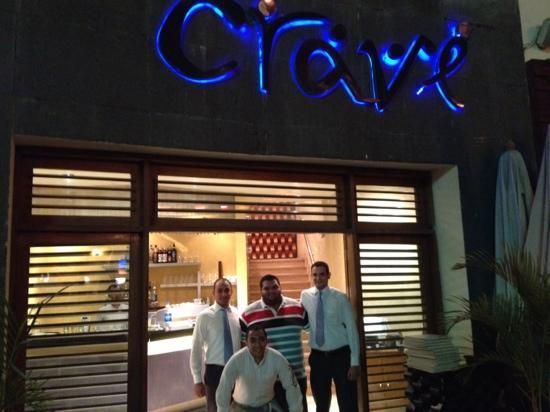 Crave : Me and the managers