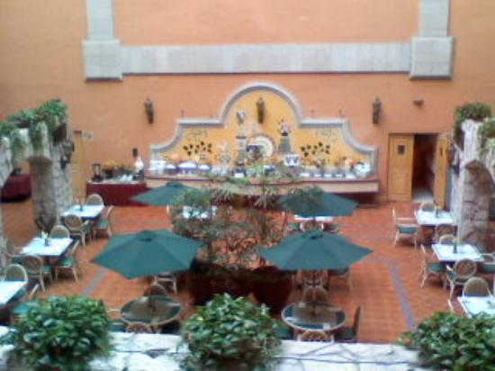Holiday Inn Express Guanajuato: el área de desayuno