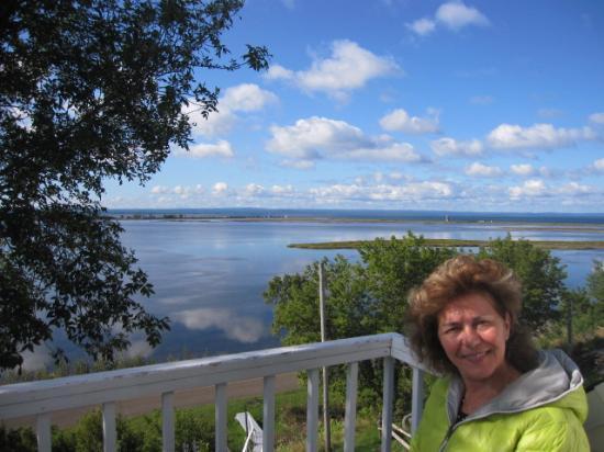 La Mer La Montagne B&B : Photo du balcon