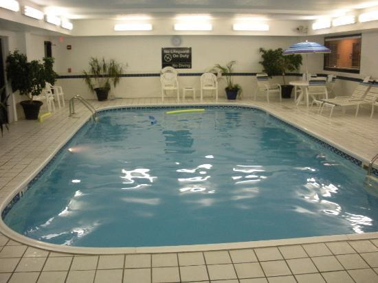 Hampton Inn Mattoon: Pool Area