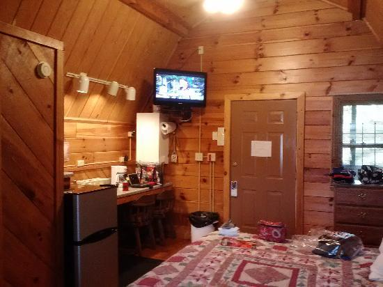 Dock's Motel & Cabins : Inside our cabin