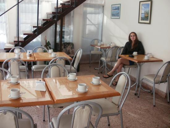 Hotel Bristol: En el desayunador!