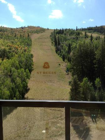 The St. Regis Deer Valley: Ski hill at Deer Valley taken from the room