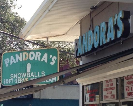 Photo of Dessert Shop Pandora's SnoBalls at 901 N Carrollton Ave, New Orleans, LA 70119, United States