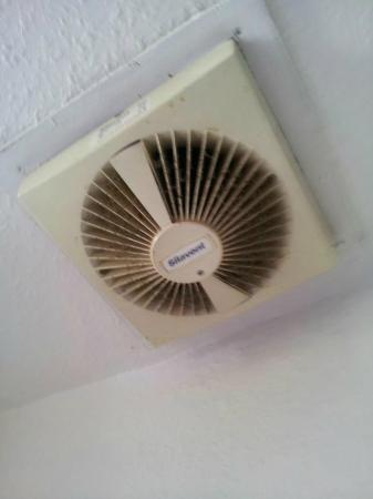 Palace Court Studios: Bathroom fan