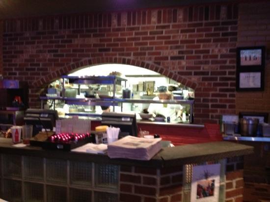 Faccia Luna Pizzeria: Brick oven pizza yes!!!