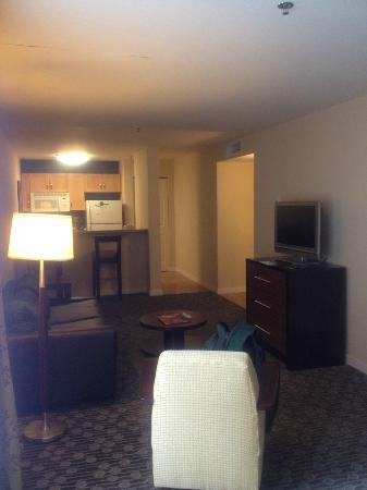 Homewood Suites by Hilton Seattle-Conv Ctr-Pike Street: View of the Living Room