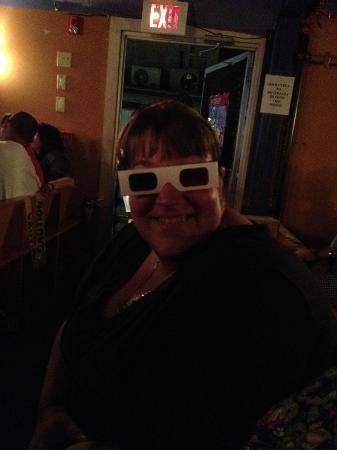 Post Office Cafe & Cabaret: 3D glasses