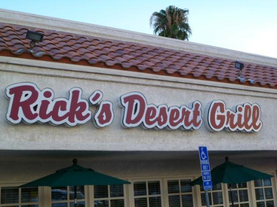 Rick's Desert Grill: Rick's