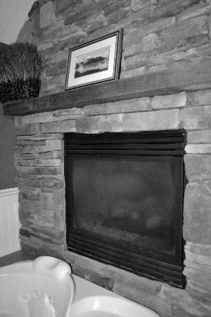 Gazebo Inn Ogunquit: Fireplace