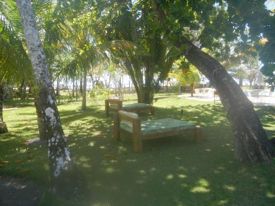 Karapitangui Praia Hotel: camas para relaxar...