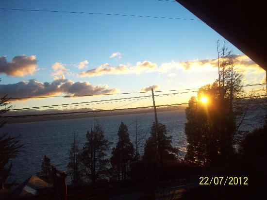 Cabanas Las Cuatro Estaciones: amanecer desde la cabaña