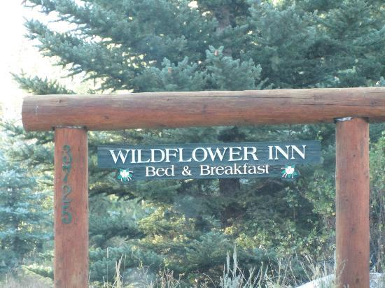 ‪‪Wildflower Lodge at Jackson Hole‬: Sign