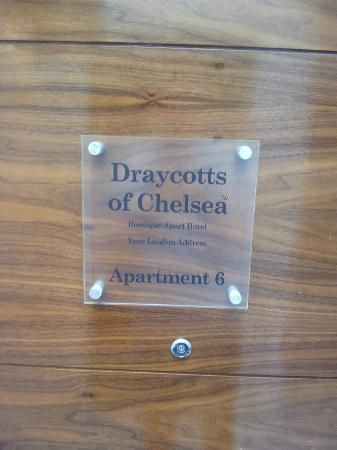 Draycotts of Chelsea: Apartment 6 (upstairs)
