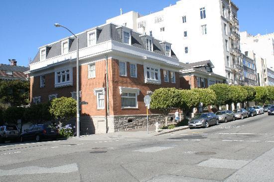 Jackson Court San Francisco: Jackson court exterior