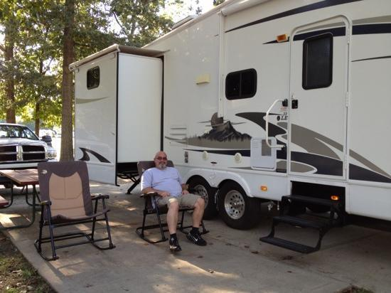 American Heritage RV Campground: our site