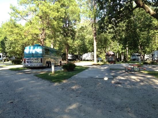 American Heritage RV Campground: view of campground