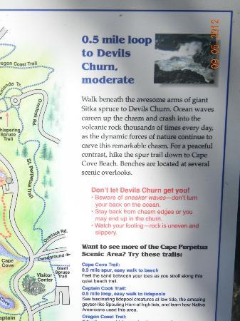 Devil's Churn: Sign
