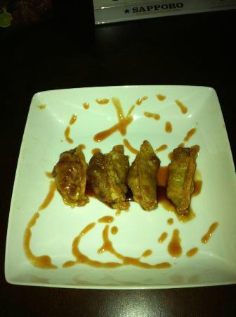 W SUSHI BAR: Churrasco Dumpling