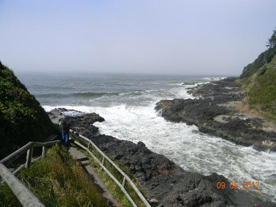 Devil's Churn: The inlet