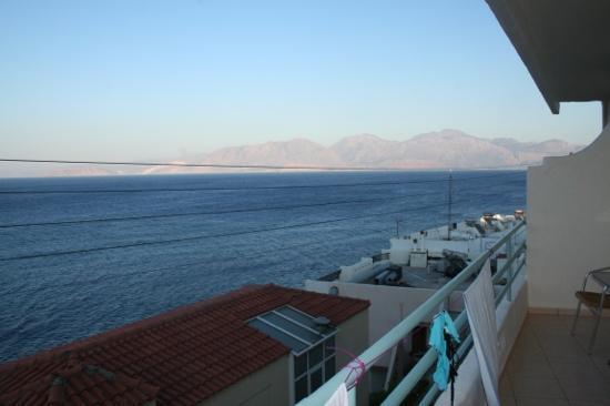 Creta Hotel : vue depuis le balcon