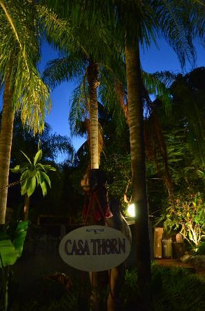 Casa Thorn Bed & Breakfast: Front courtyard entrance