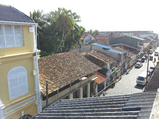 Fort Inn Guest House: View from the private balcony