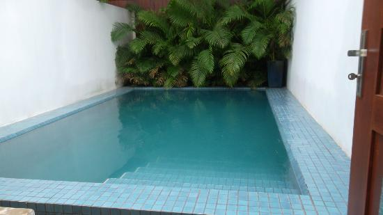 Blue Lime: Plunge pool - cool and delicious