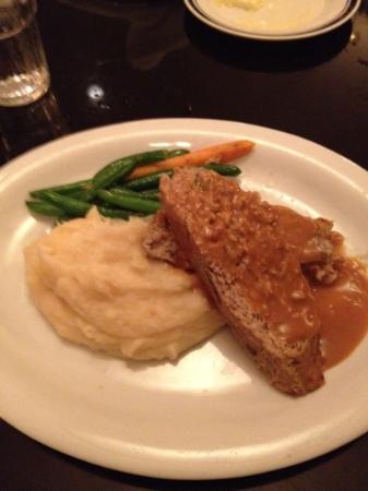 Buckhead Diner : veal meatloaf