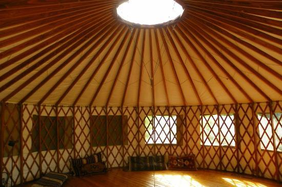 Post Ranch Inn: Yurt Interior