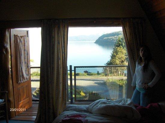 Hosteria Rihue: Vista desde la habitación