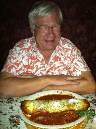 Rosa's Little Italy : GW 's lasagna really was as big as his arm - and awesome !