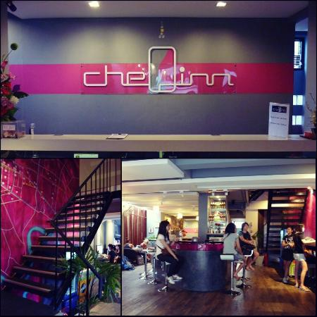 CheQinn - Bangkok Chic Hostel: the pics were taken in the morning :)