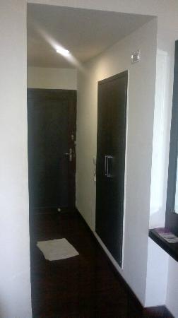 Hotel Mandakini Jaya International: walkin area of room
