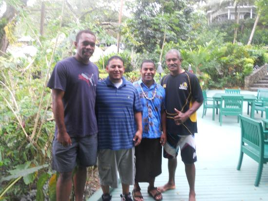 Koro Sun Resort and Rainforest Spa: Tour guides of the Koro Sun.Great People!!!
